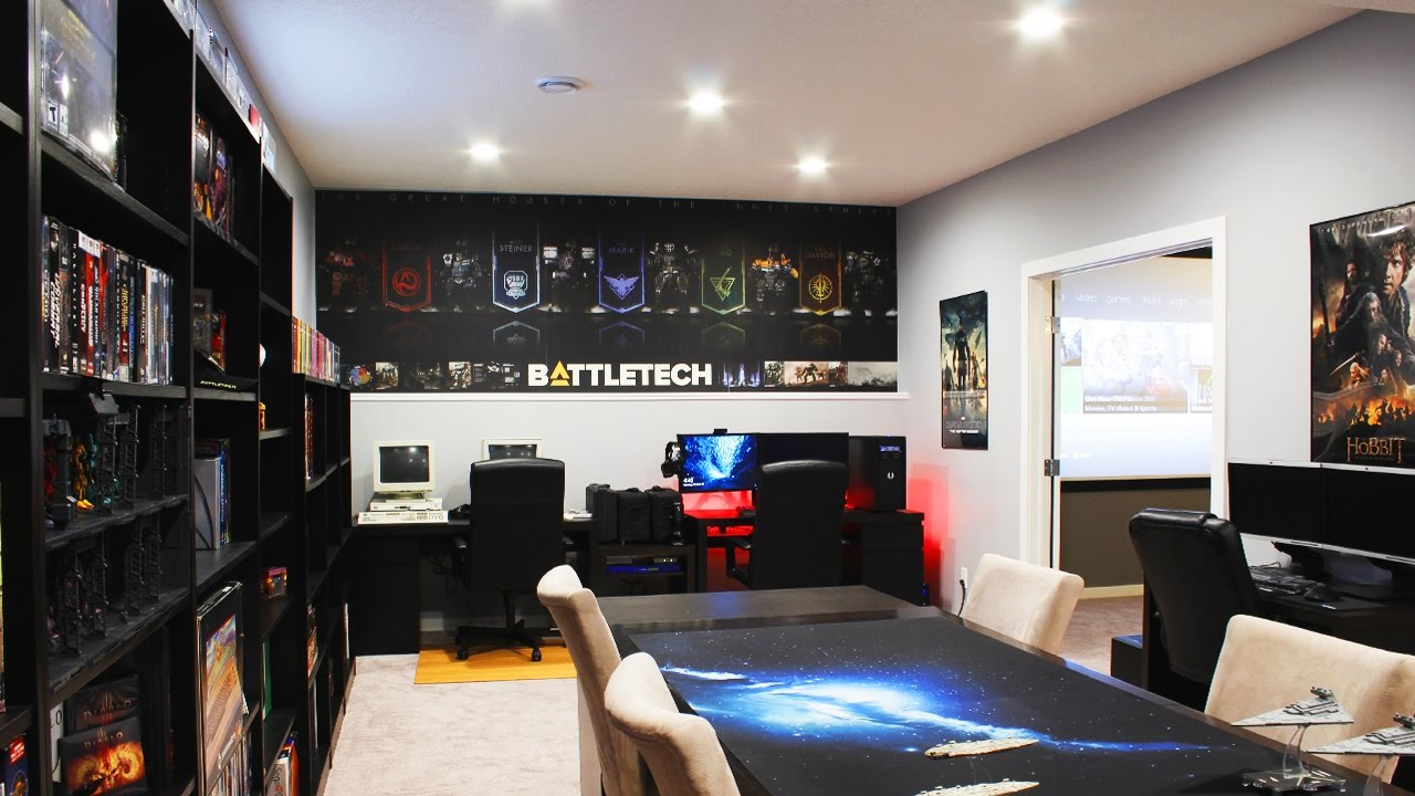 insane gaming room setup spotlight youtube - Gaming Room