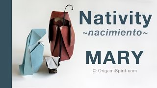 Make a Christmas Nativity -MARY :: Pesebre Navidad -MARIA