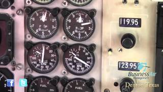 King Air 200 Engine Start - AC System Check