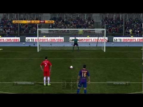 El Clásico в FIFA 12 - 21.04.2012