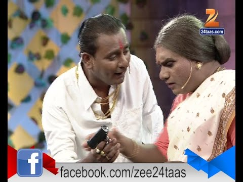 Chala Hawa Yeu Dya : Sagar Karande Doing Vastav Scene 24th December 2015