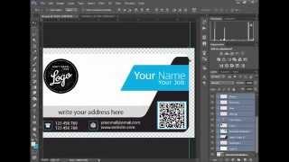كورس الدعاية والاعلان : تصميم الكارت الشخصى Business Card Design