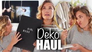 XXL DEKO und INTERIOR HAUL - Deko Ideen | janasdiary