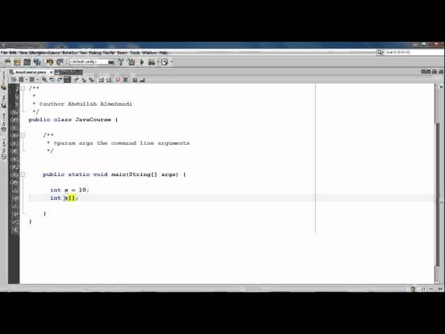 الدرس الثامن والسبعون : طريقة كتابة المصفوفات