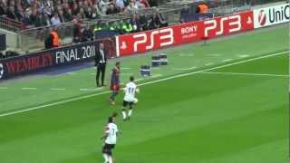 Messi's goal Champions League Final 2011