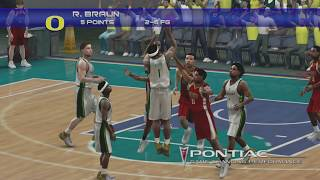 Winthrop v Oregon (07) - College Hoops 2K7 NCAA March Madness