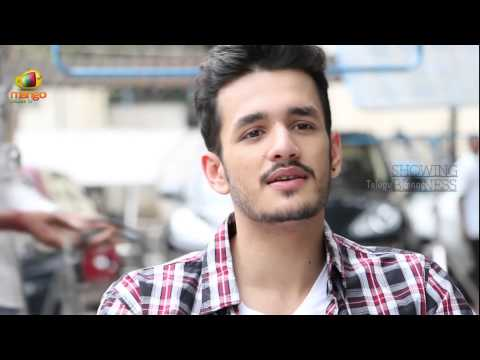 Akhil Akkineni says, I had Butterflies in my stomach working with ANR garu - Manam Interview