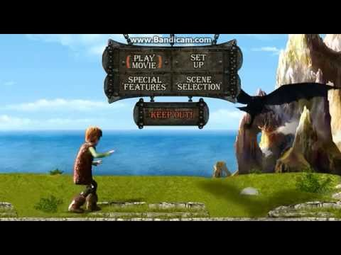 How To Train Your Dragon Bluray Menu