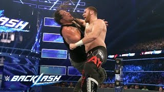 Sami Zayn vs. Baron Corbin: WWE Backlash 2017 (WWE Network Exclusive)