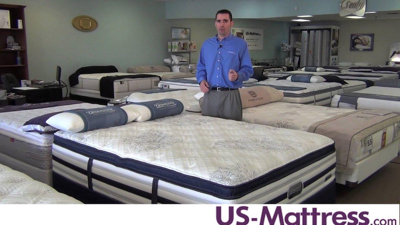Simmons Beautyrest Recharge World Class Tillingham Ultra Plush Pillowtop Mattress  YouTube