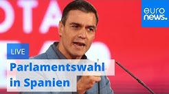 LIVE: Parlamentswahl in Spanien - gibt es dieses Mal eindeutige Ergebnisse?