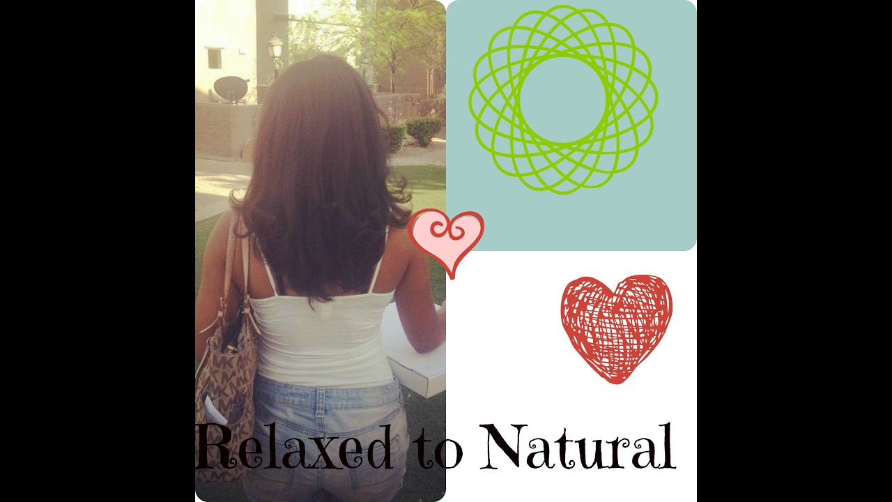 How to go natural without cutting hair