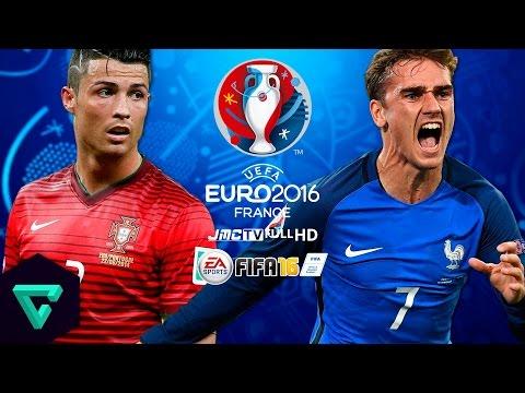 Portugal vs. France | UEFA Euro 2016 Final | FIFA 16