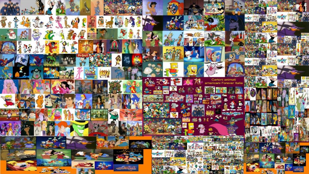 Lista dei migliori cartoni animati americani anni oggi
