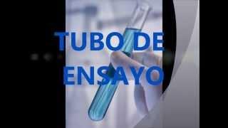 Material de laboratorio de Química básica