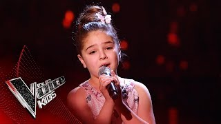 Keira Performs 'Neverland' | Blind Auditions | The Voice Kids UK 2019