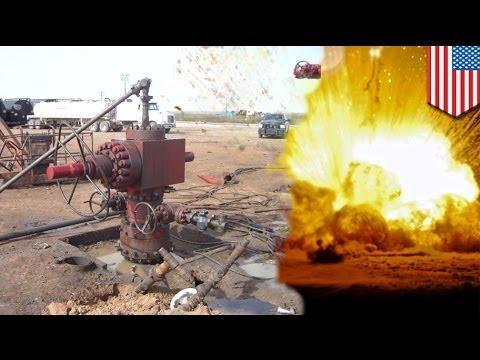 There will be blood: Oil wellhead explosion kills two, injures nine in west Texas
