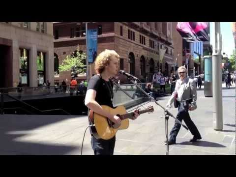 Ollie Brown 'Bedford Ave' (Live Busking performance)