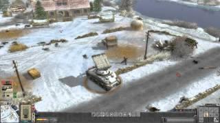 Faces of War - German campaign walkthrough - Mission 9 - Dinant 4/6 [HD]