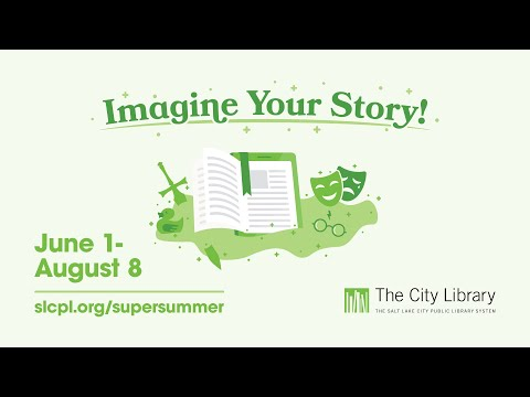 Imagine Your Story With The City Library's Super Summer Challenge 2020