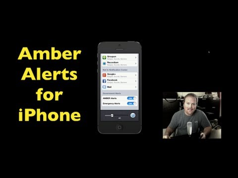 find alerts on iphone