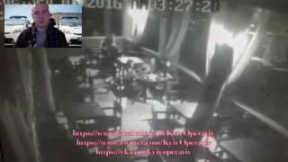 бухая полицеская стреляла по банкам в ресторане