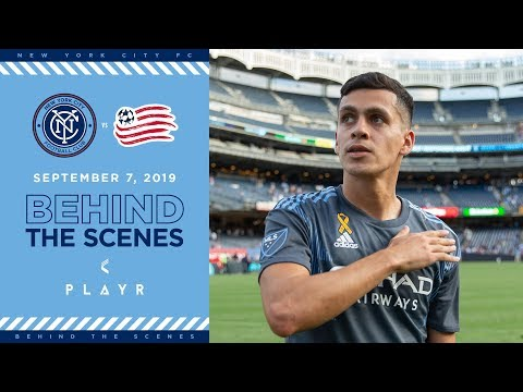 BEHIND THE SCENES | NYCFC vs. New England Revolution | 09.07.19