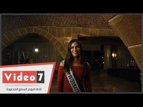 """ملكة جمال العالم للسياحة: شكرا اليوم السابع -i love egypt"""""""