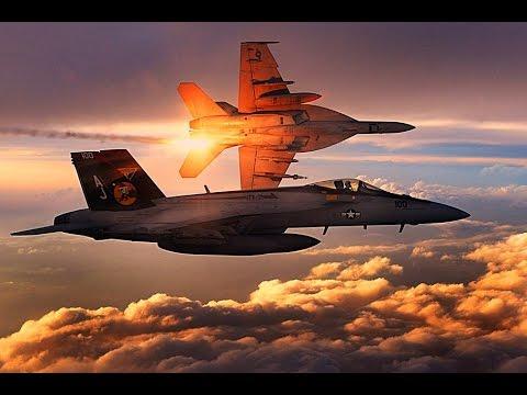 """美舰载F/A-18""""大黄蜂""""的升级版性能赶超F-15  """"沉默大黄蜂""""战力倍增"""