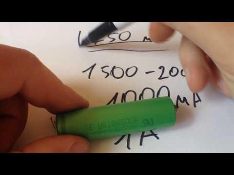 Как зарядить литий ионную батарею