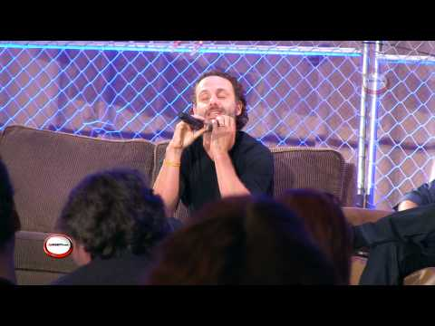 Andrew Lincoln complete Q&A panel at walker stalkers 2013
