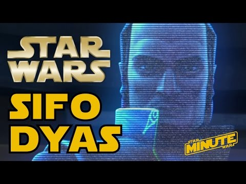 Sifo Dyas and the Clone Army Explained (Canon) - Star Wars Minute