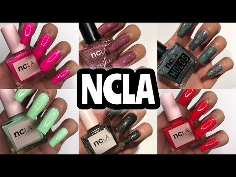 NCLA Los Angeles Nails Review + Swatches