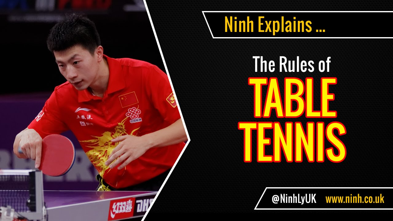 The Rules Of Table Tennis Ping Pong Explained