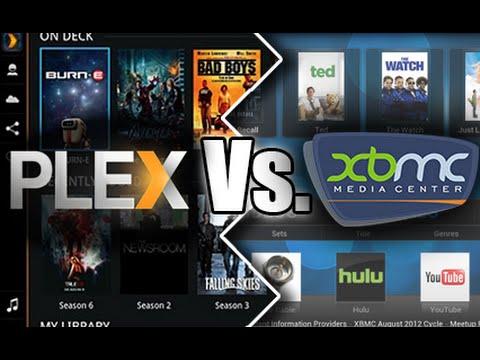plex versus kodi