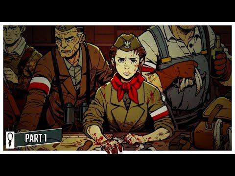 WARSAW - World War 2 Darkest Dungeon [Gameplay]