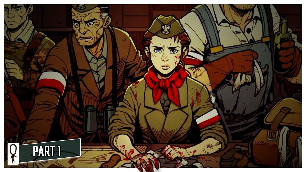 WARSAW – World War 2 Darkest Dungeon [Gameplay]