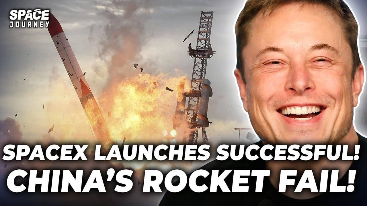 Download BREAKING! SpaceX Starship 20 Successful Launch Test, China's Rocket launch FAIL
