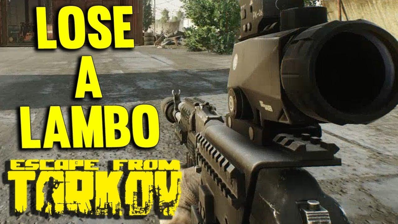 HOW TO LOSE A LAMBO IN 10 SECONDS - ESCAPE FROM TARKOV - Dan