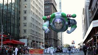 Buzz Lightyear in Macy's Parade