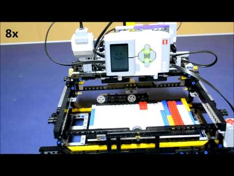 how to make a 3d printer out of legos