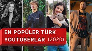 En Çok Abonesi Olan 25 Türk YouTuber | 2020 | 🤳🏆☝