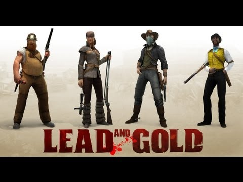 Lead and Gold Co-Op W/Twitch & Maddog Ep 1 (also: I'm Alive!)