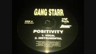 Gang Starr - Positivity (Instrumental)