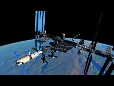 KSP: Building the International Space Station in RSS, from s