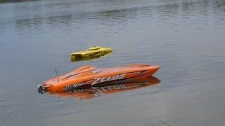 Proboat zelos 48 Crash zelos 36 geico 29 Traxxas m41 action