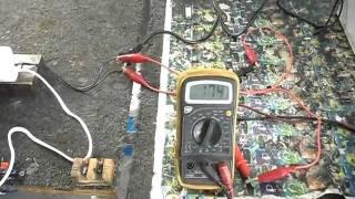 Balastro Electrónico Velalux Mod. 1AF1540 Prueba 2. Arranque 1V hasta 200V