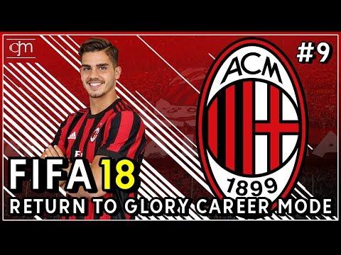 FIFA 18 AC Milan Career Mode: Drama Derby Milan Pertama #9