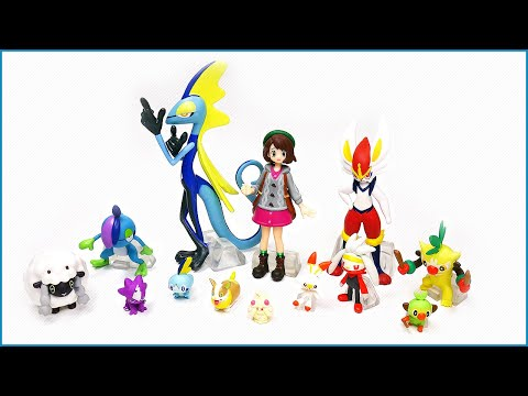 NEW Pokemon Scale World Galar Region Set Unboxing & Review