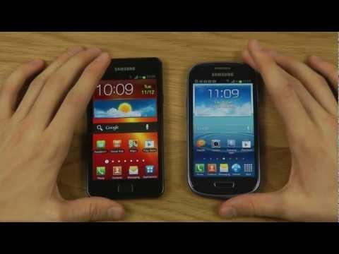 Galaxy S2 vs. Galaxy S3 Mini